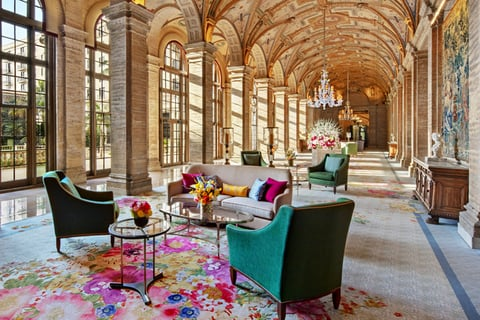 Adam D. Tihany refurbishes lobby of The Breakers Palm Beach.