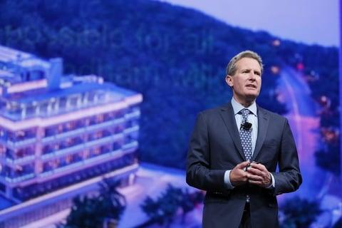 Geoff Ballotti, president and CEO of Wyndham Hotels & Resorts
