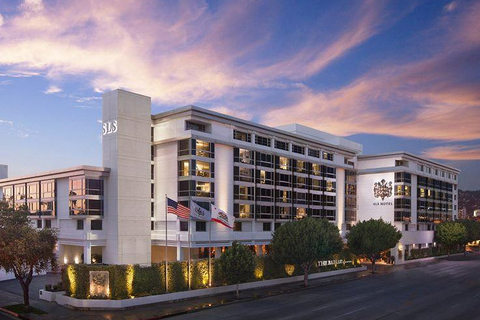 How the location of SLS Beverly Hills inspired $22M redesign by Dakota Development, Muzeo and Avenue Interior Design.