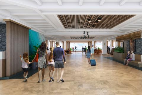 Sheraton Maui Resort & Spa transforms its lobby.