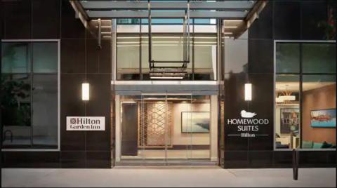 Hilton Garden Inn/Homewood Suites by Hilton Chicago Downtown South Loop