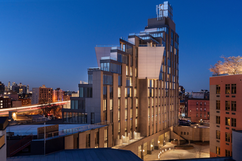 Hotel Indigo Williamsburg Brooklyn exterior