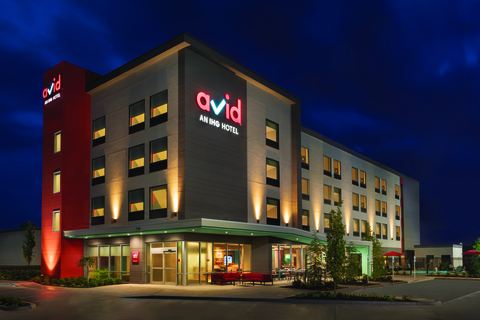 The 87-room Avid Hotel Oklahoma City-Quail Springs opened 199 days after it began development.