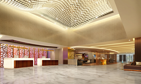 Hilton Washington DC National Mall lobby