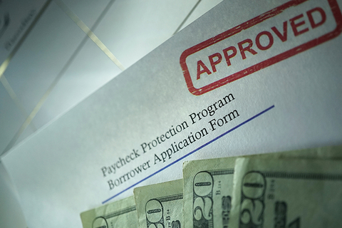 Paycheck Protection Program (PPP) form