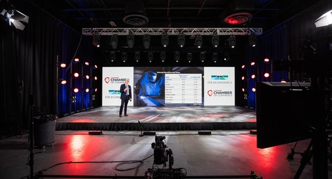 Events United Links New Hampshire Economist to Ohio Town Via Livestreaming With CHAUVET Professional