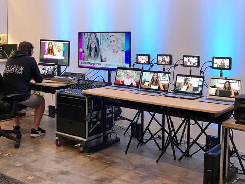 Global Streaming Event Shein Together Streamed With Blackmagic Design Livedesignonline