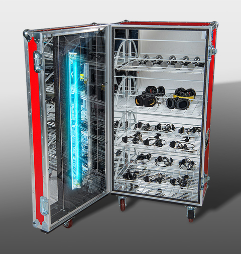 MT Road Case with UV-C Sterilization Technology
