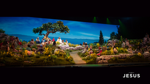 production design & LED video screen for Sight & Sound Theatre's Jesus