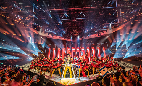 stage design and lighting design for Eurovision Song Contest 2019