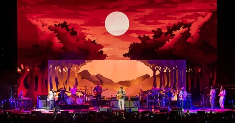 stage design and video design for John Mayer 2019 Summer Tour