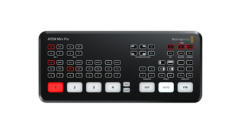 Blackmagic Design Announces New ATEM Mini Pro