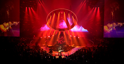 production and lighting design of Aerosmith's Deuces are Wild Las Vegas Residency
