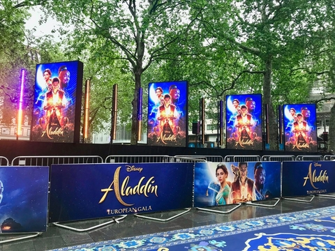 IPS Enchants At Aladdin Premiere With CHAUVET Professional F4IP
