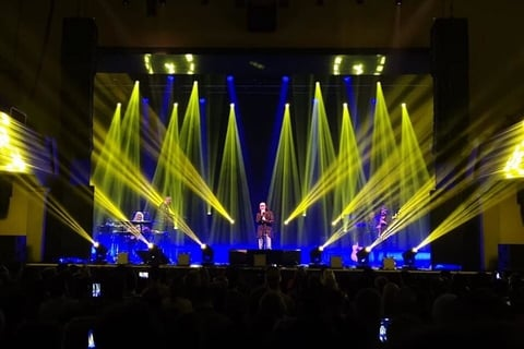 Massimo Tomasino Creates Big Looks On Small Stage For Antonello Venditti With CHAUVET Professional