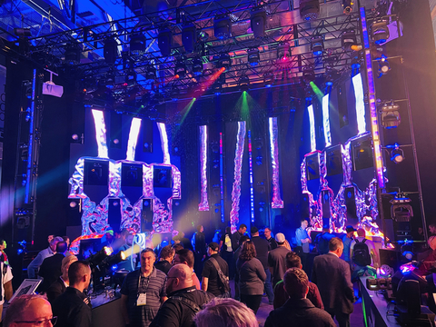 CHAUVET Professional Wins 2019 LDI Large Booth Design Award