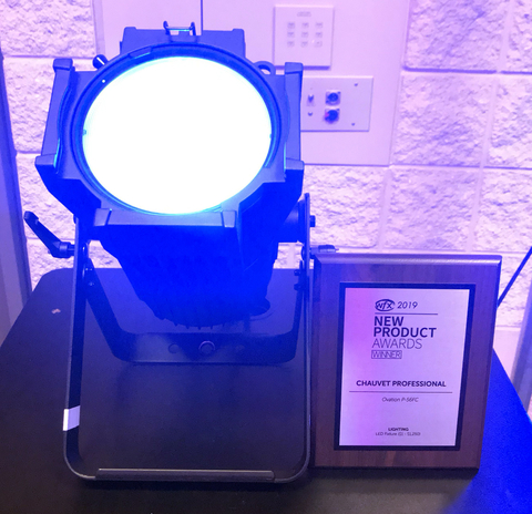 CHAUVET Professional Ovation P-56FC Wins New Product of the Year Award at WFX