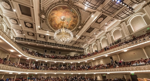 Cincinnati Music Hall installs new lighting system