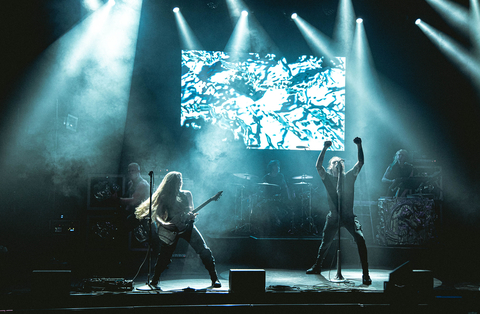 Code Orange Live Streams Album Release Party Lit With Help From CHAUVET Professional