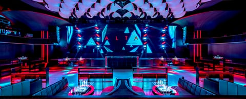 ALTA Nightclub Taichung front center panorama view