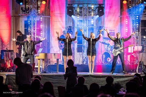 CHAUVET Professional and Schallmeister Underline Magical Setting for 'Emotional Moments' at Westerholt Castle