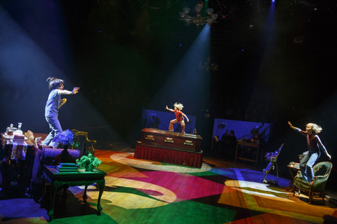 Fun Home with lighting design by Ben Stanton