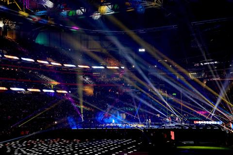Bob Barnhart Lighting design at Super Bowl LIII Halftime Show