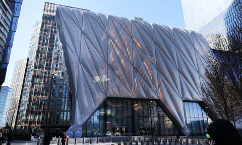 The Shed NYC theatrical design