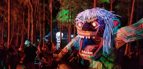 The Design Oasis and HELM Projects Scare Up Stunning Looks With CHAUVET Professional at Suwannee Huluween