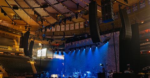 JBL loudspeakers for Brani Carlile at Madison Square Garden