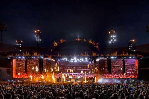 concert stage design and video design for Marco Borsato concert