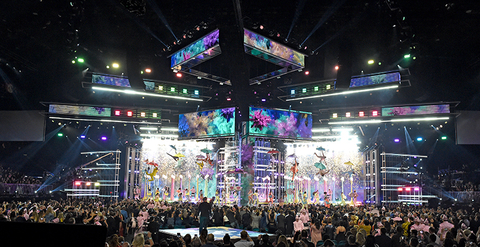 lighting design for Billboard Music Awards 2019