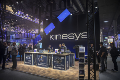 Kinesys enjoys successful Prolight+Sound