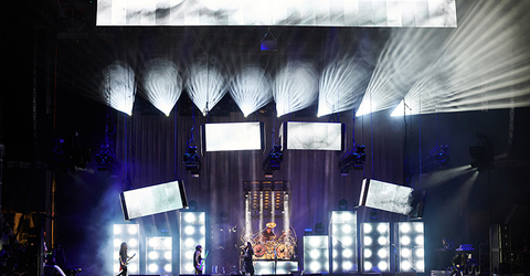 lighting design and video design for Korn The Nothing Tour
