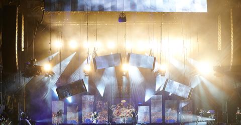 lighting design for Korn The Nothing Tour