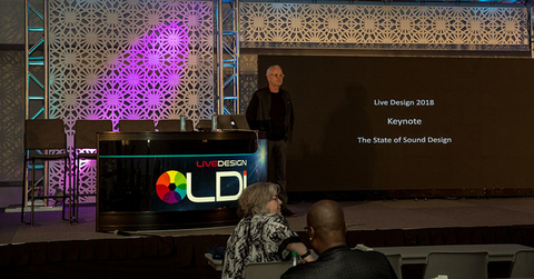 sound design audio professional for LDI2018
