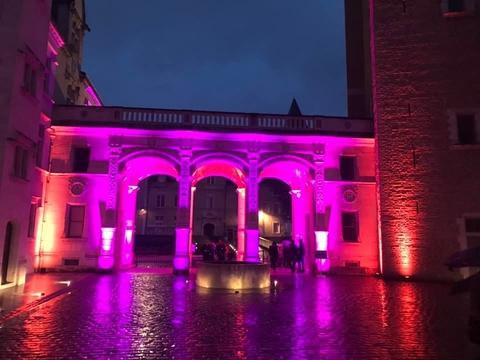 AG Lum Reflects Spirit of La Nuit des Musées at Château de Pau with CHAUVET Professional