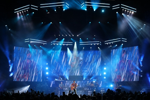 Justin Kitchenman Evokes Summer on Luke Bryan Sunset Repeat Tour with CHAUVET Professional