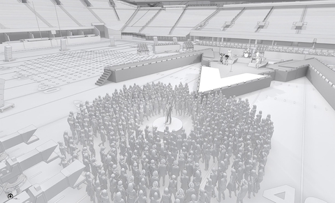 All Access Staging Set Drawings Halftime Show 2019