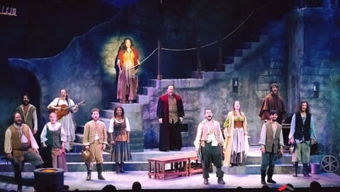 Clifford Spulock Lights Two Worlds in Man of la Mancha With CHAUVET Professional