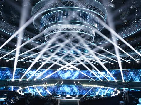 lighting design for World of Dance