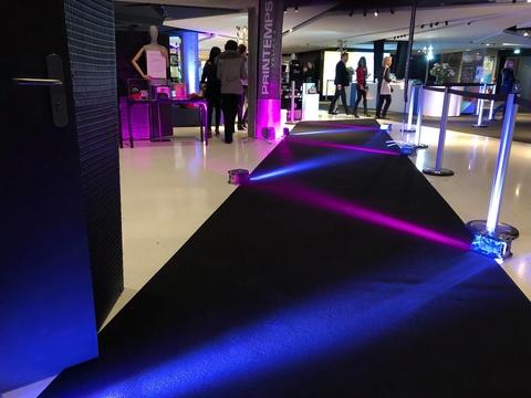 Axilum and CHAUVET Professional Add Enchanting Element to Printemps Fashion Runway