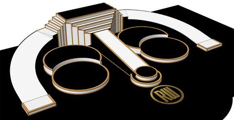 Robbie Williams Las Vegas Residency Production Design stage rendering