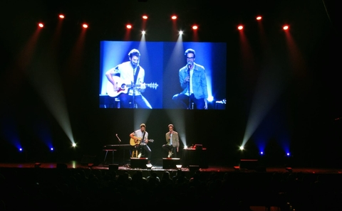 Hairston Touring Production Light Up Rhett & Link Live! in New Orleans with CHAUVET Professional