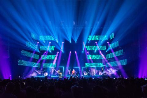 Robe moving lights chosen for David Bisbal tour