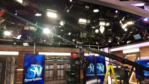SNY Studios at 4 World Trade Center With CHAUVET Professional