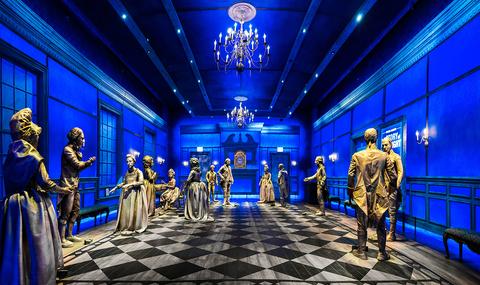 scenic design Hamilton: The Exhibition