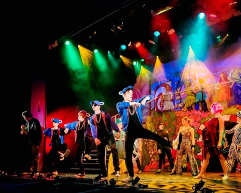 James Cladingboel Provides Animated Looks For Seussical with CHAUVET Professional