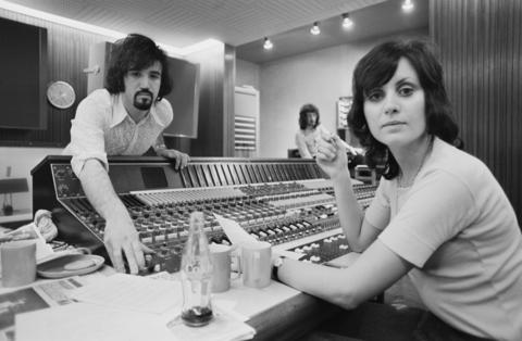 British singer Sylvia McNeill and songwriter Tony Macaula