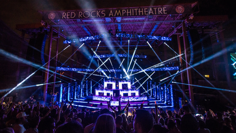The Chainsmokers at Red Rocks 2016
